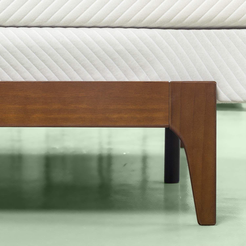 Amazon Com Zinus Savannah Adjustable Wood Compack Bed Frame