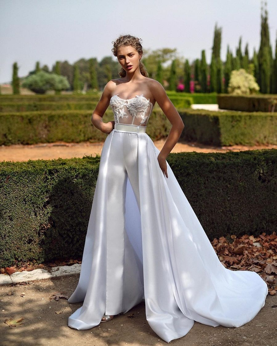 50af87c40c 57 Stunning Wedding Dresses With Detachable Skirts