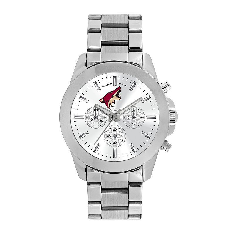 Women's Game Time Arizona Coyotes Knockout Watch, Silver