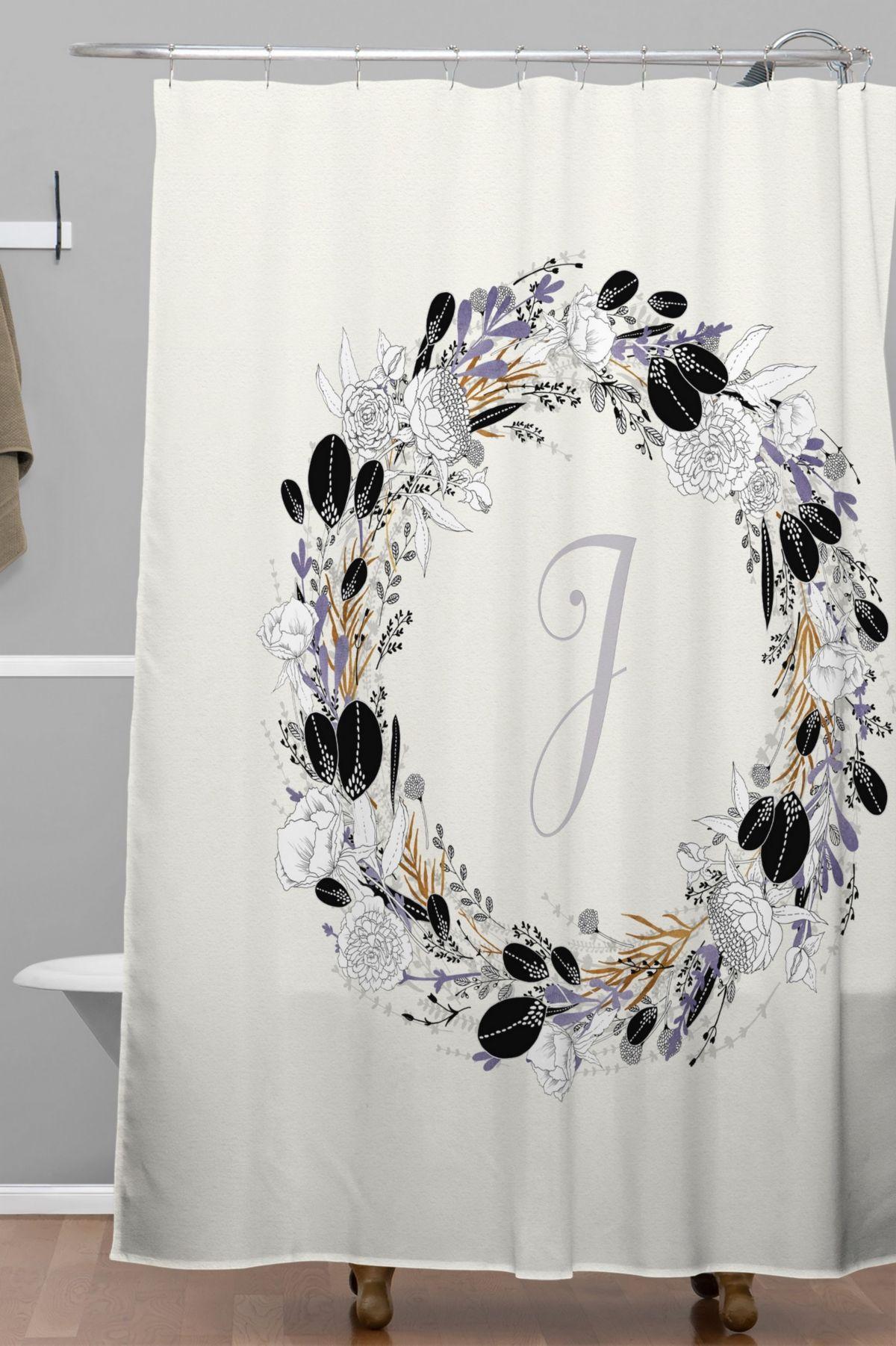 Deny Designs Iveta Abolina Silver Dove J Shower Curtain Reviews