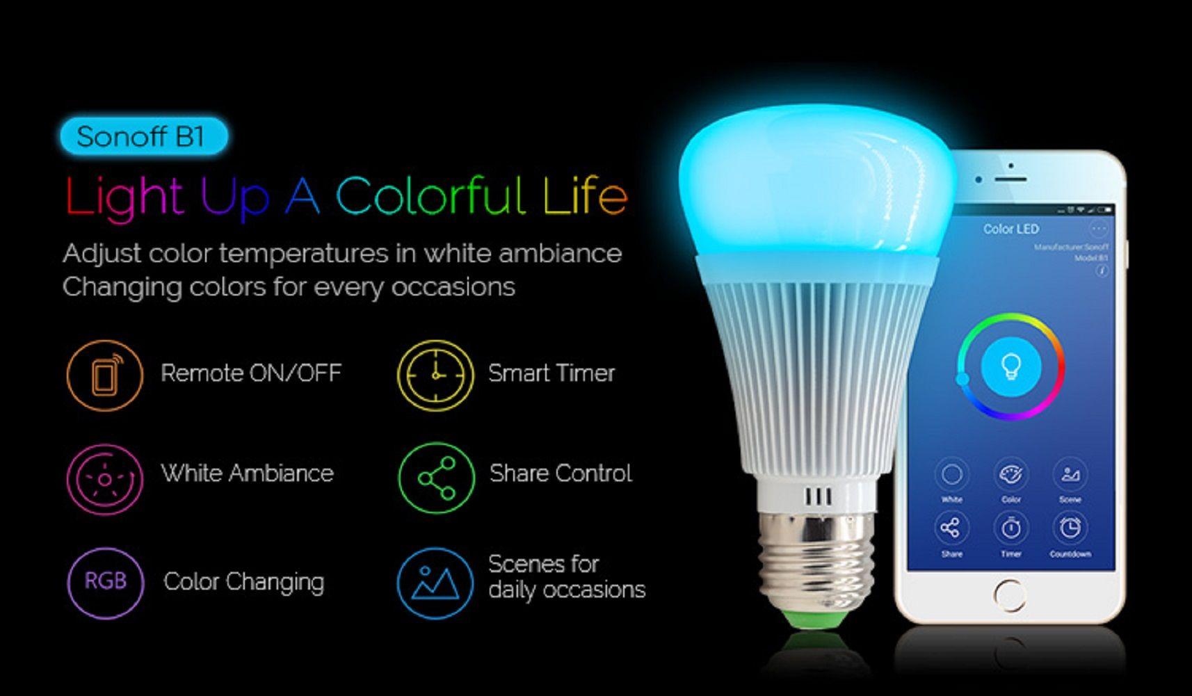 Rgb Led Lamp : Pcs e rgb led lamp w v bulb light