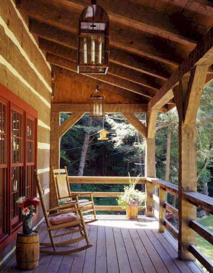 29 awesome rustic farmhouse porch design ideas 03 best