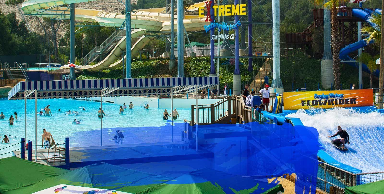 Raging Waters San Dimas Water Park Rides Water Park San Dimas