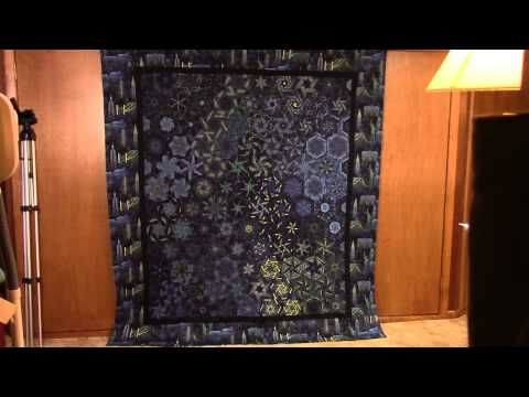 Excellent tutorial for the one block wonder quilt or kaleidoscope