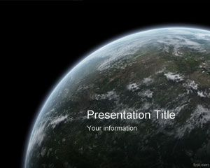 free wwf earth hour powerpoint template is a free background theme