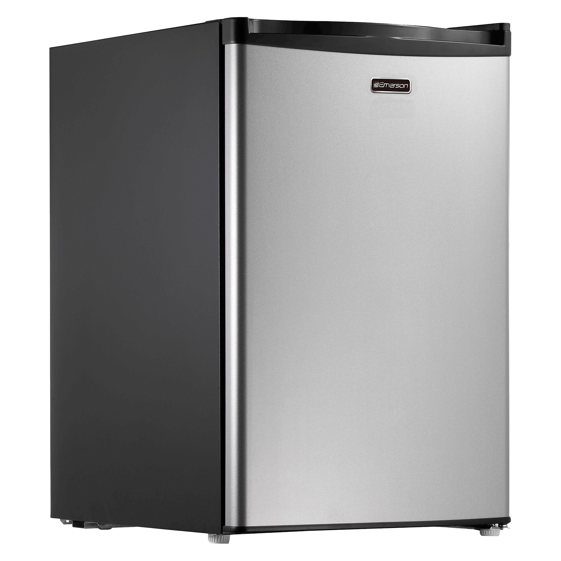 26 Cubic Foot Stainless Look Compact Dorm Refrigerator Check Out This Great Product This Link Compact Refrigerator Small Refrigerator Small Fridge Freezer