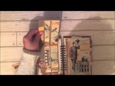 Epemera's Vintage Garden DT Project Using Gentlemen & Scholars - YouTube