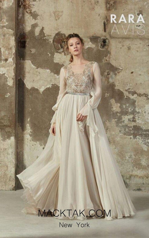 Long Sleeve A-Line Dress by Rara Avis Mleria #macktak#macktakmart ...