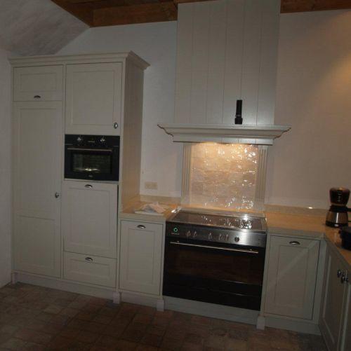 Landelijke Keuken Creme : VRI interieur landelijke keuken klassiek creme wit met