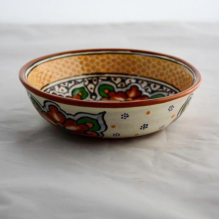 Talavera Soup Bowl - Marigold