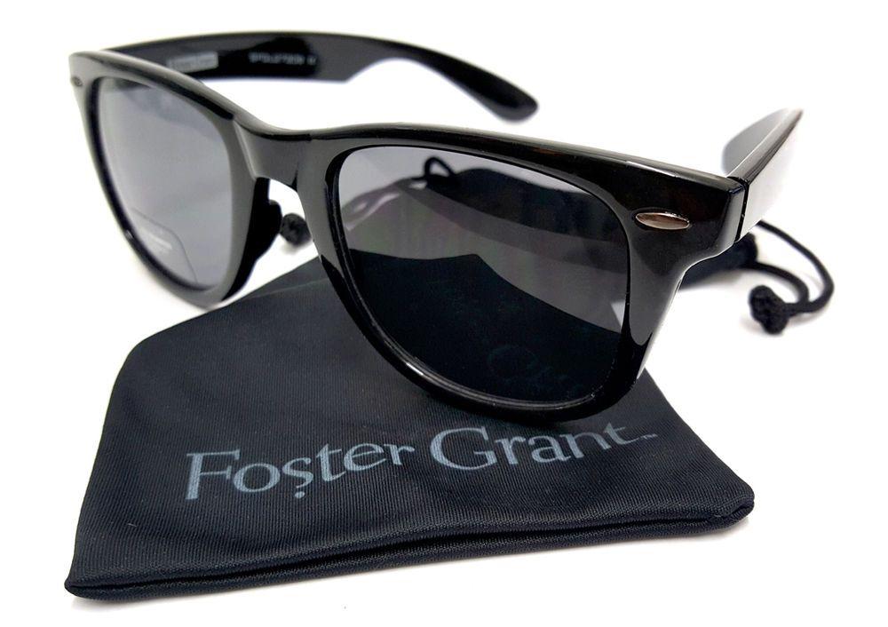 Womens Wayfare Foster Grant Sunglasses Purple Classic Retro Vintage Fashion