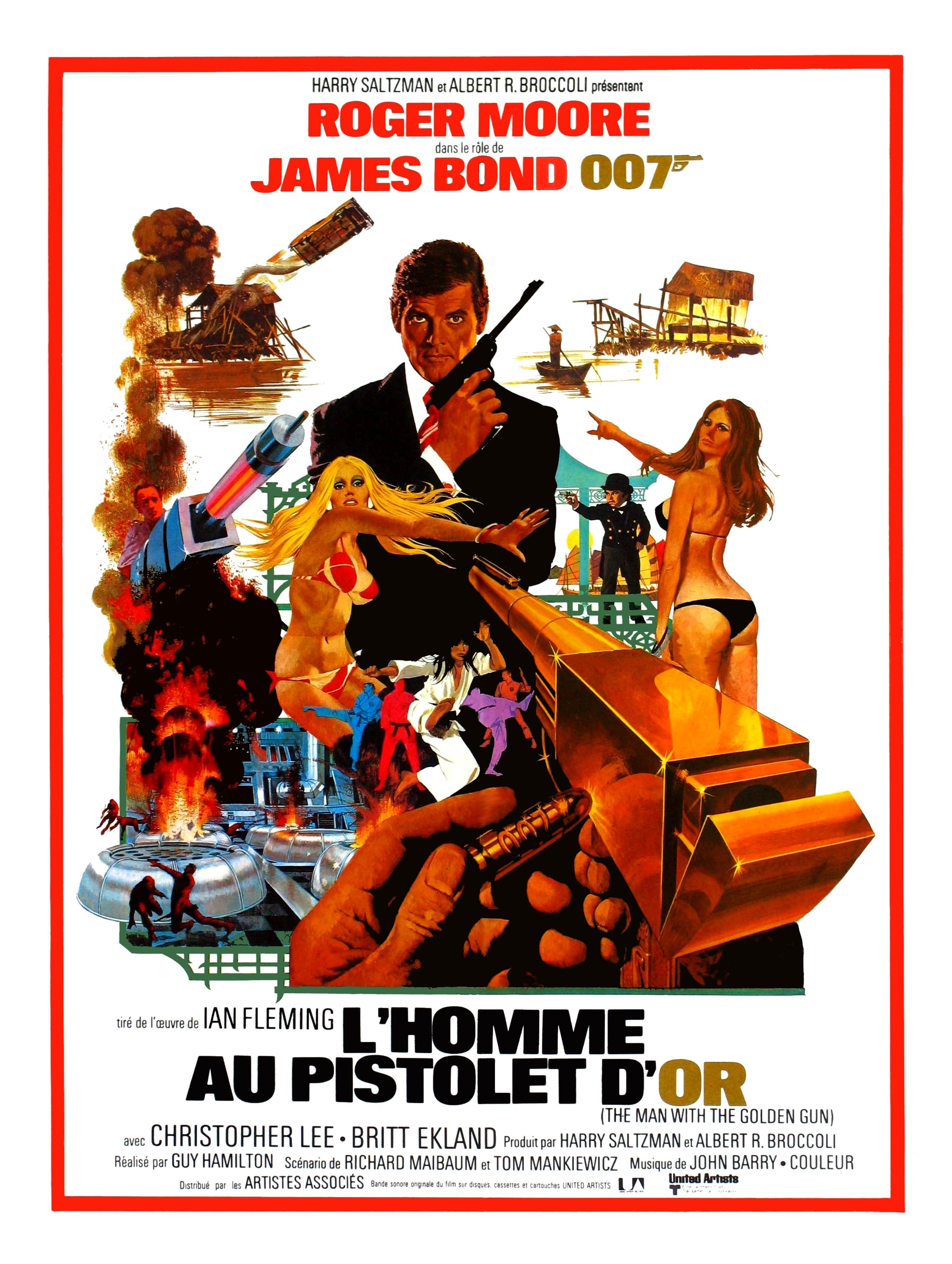 Pin Em James Bond Cartazes