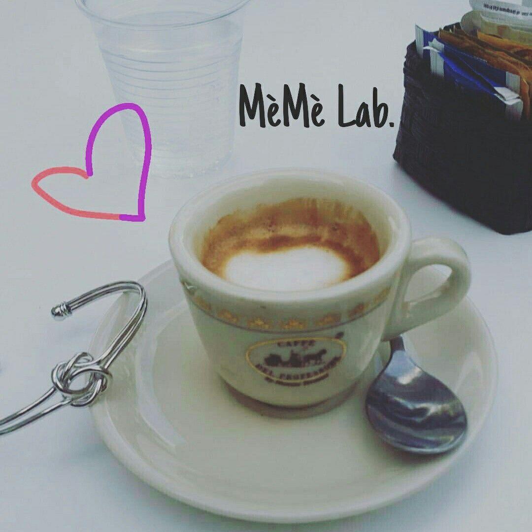 Pausa caffè & nuova collezione  Bracciali MèMè Lab. www.memelabaccessori.com