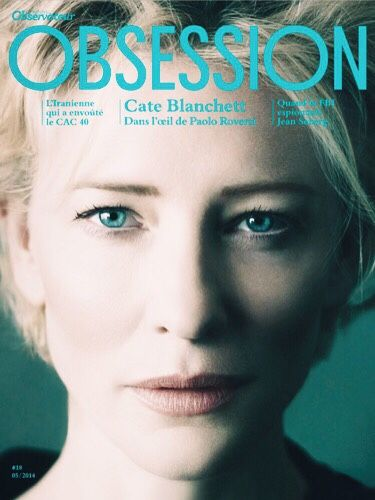 Cate Blanchett by Paolo Roversi (Obsession/Le nouvel Observateur).