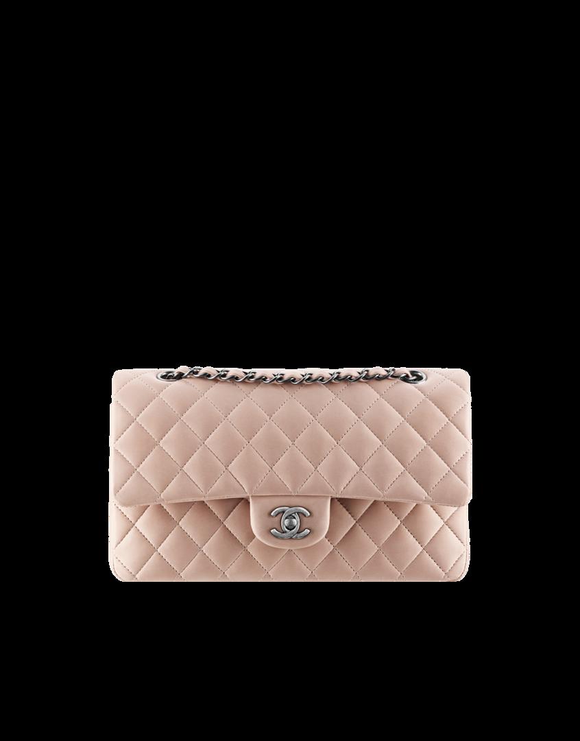 b796afc1a04a3 Klassische Tasche aus Lammleder - CHANEL