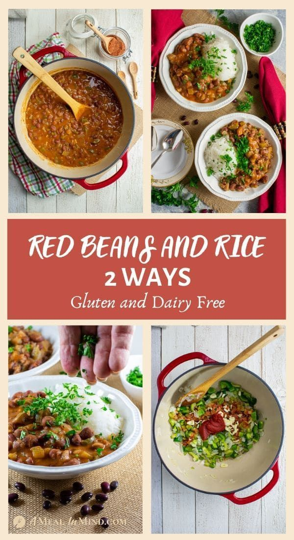 Red Beans and Rice - 2 Ways