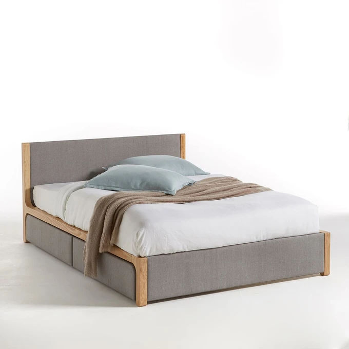 Lit Avec Sommier Elori Bed With Drawers Home Furnishing Accessories Under Bed Drawers