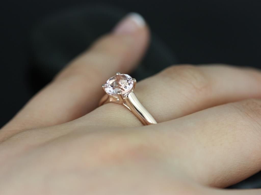 Rose Gold Band Diamond Ring  Google Search