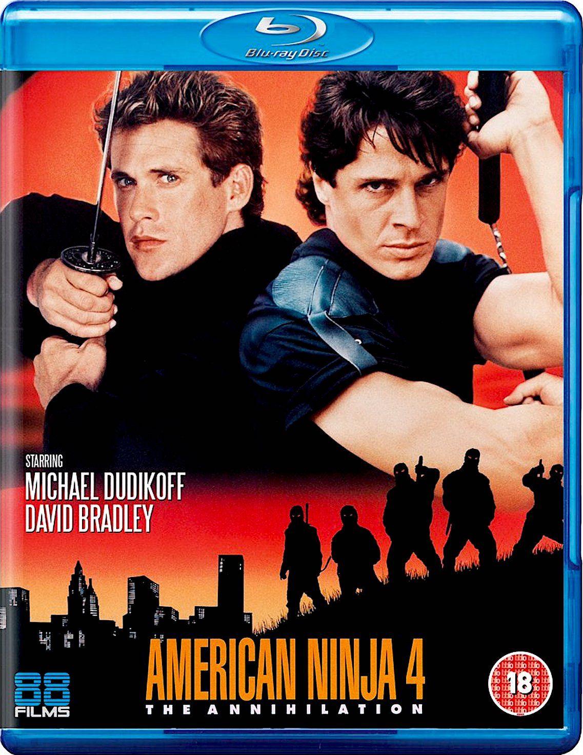 American Ninja 4 The Annihilation Blu Ray Ninja Movies