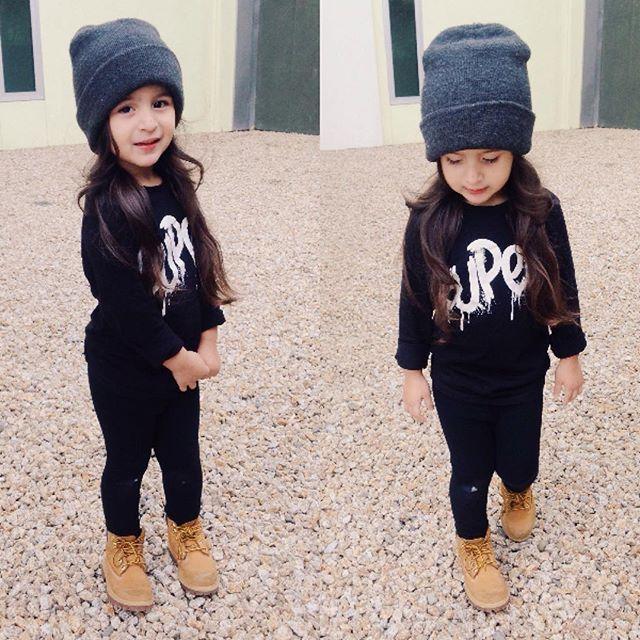 Toddler girl fall outfit @KortenStEiN More