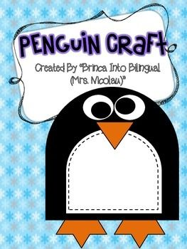 FREE Penguin Craft #penguincraft