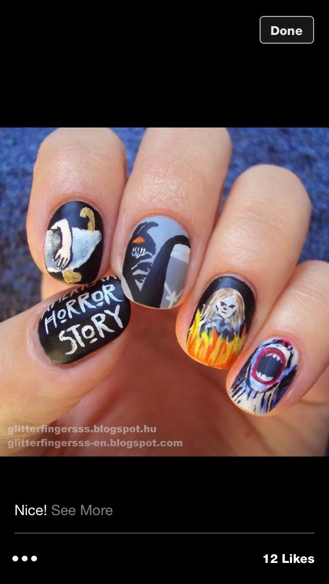 Funky Nails   Nails Fancy to Freaky   Pinterest