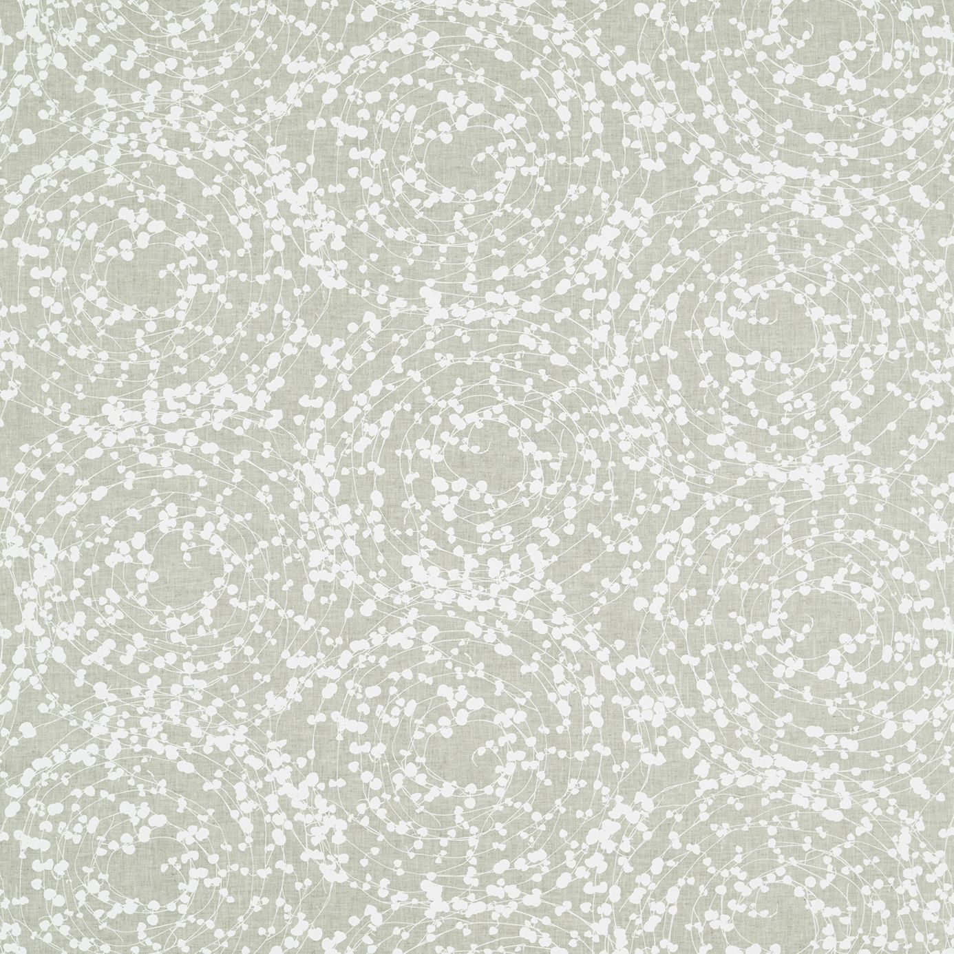 A succulent vine with sweet, heart-shaped leaves decorates this sophisticated fabric from the Lilaea collection. Heart Vine 120554 Chalk/Linen by #Harlequin #fabric