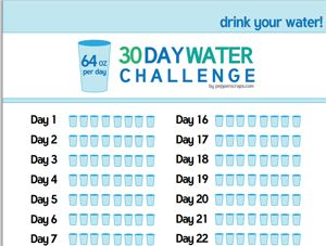 Drink More Water Svg File  Oz