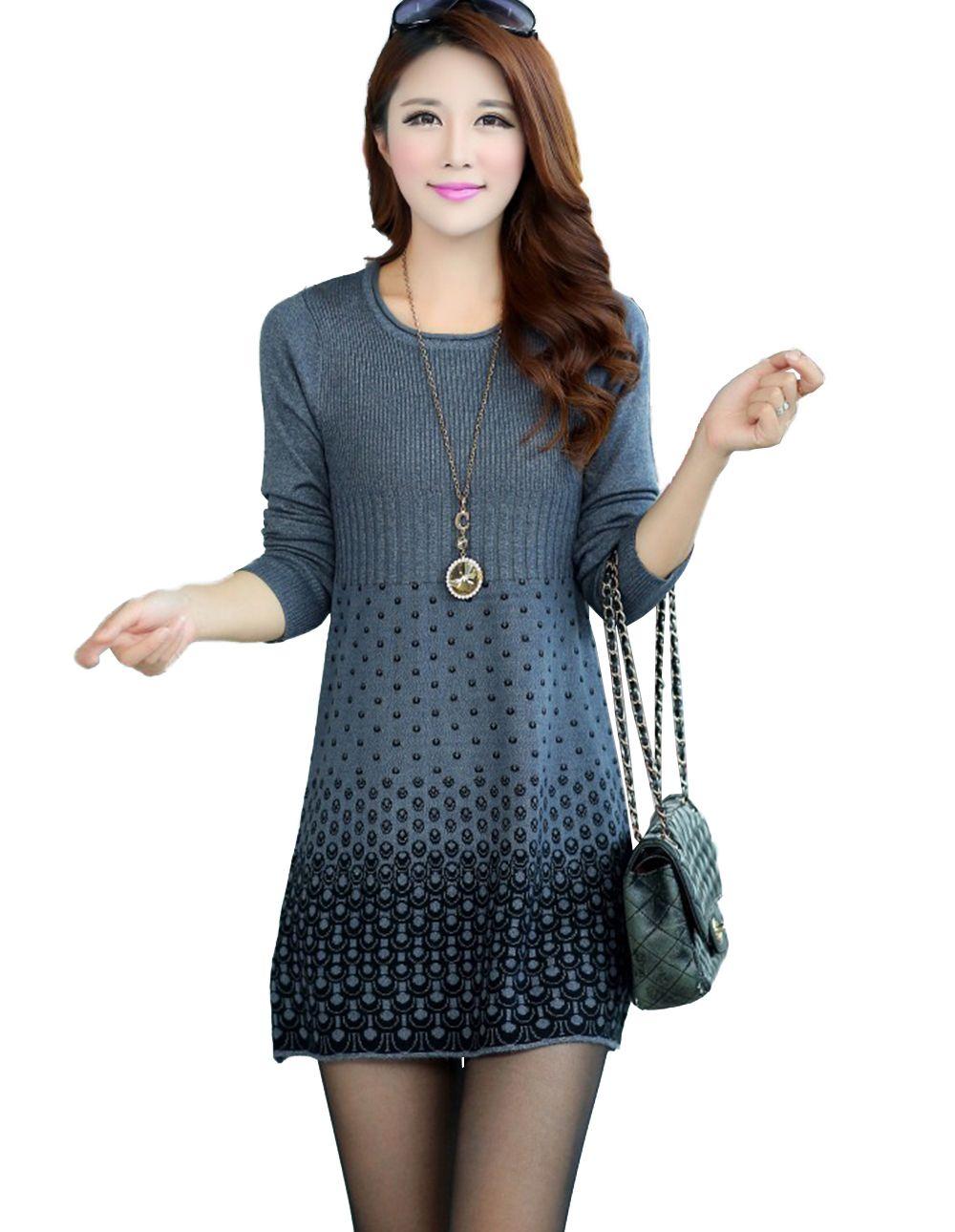 647ef6d76 vestido de lana mujer - Buscar con Google Vestidos De Hilo