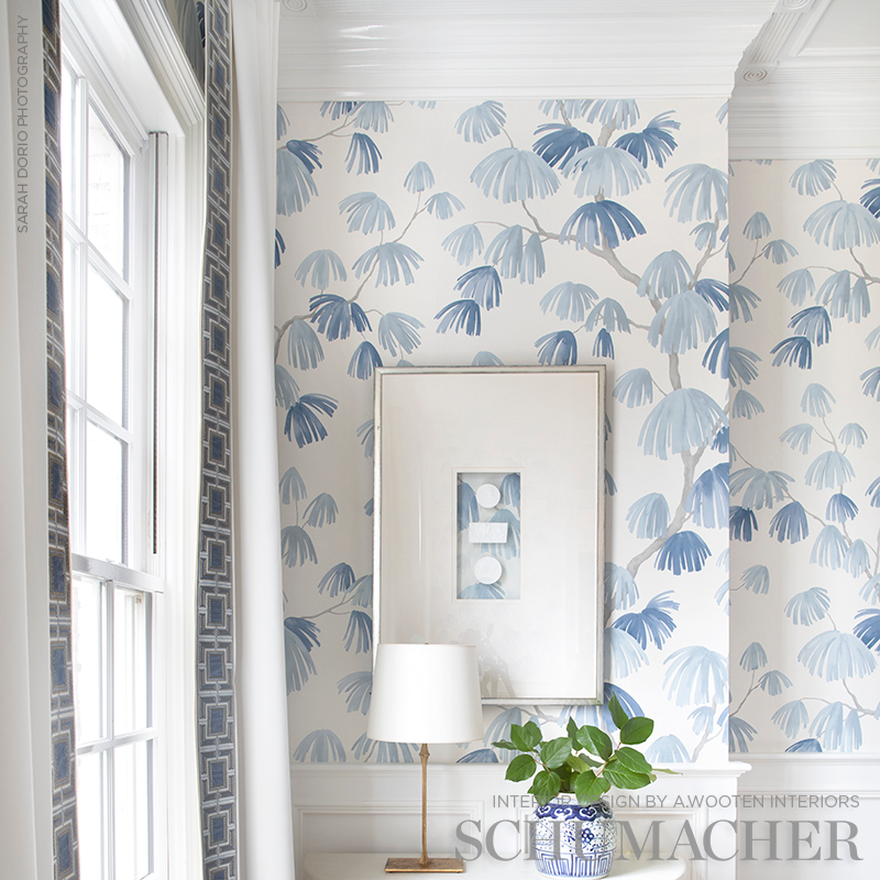 Schumacher Wallcovering For Every Decor In 2021 Gallery Wall Arrangement Decor Design