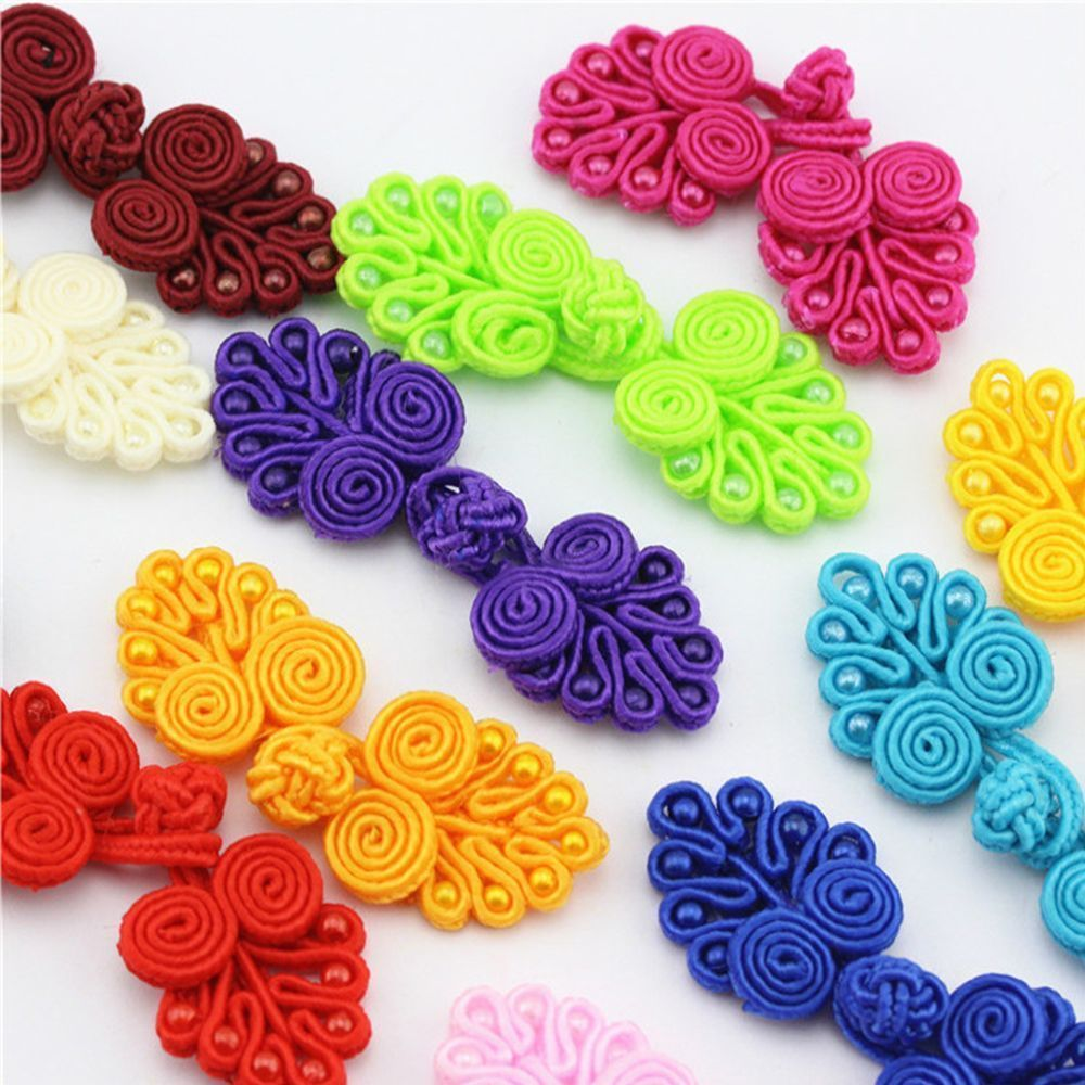 Closure Fasteners Button DIY Handmade Pankou For Tang Suit Chinese Knot Frog