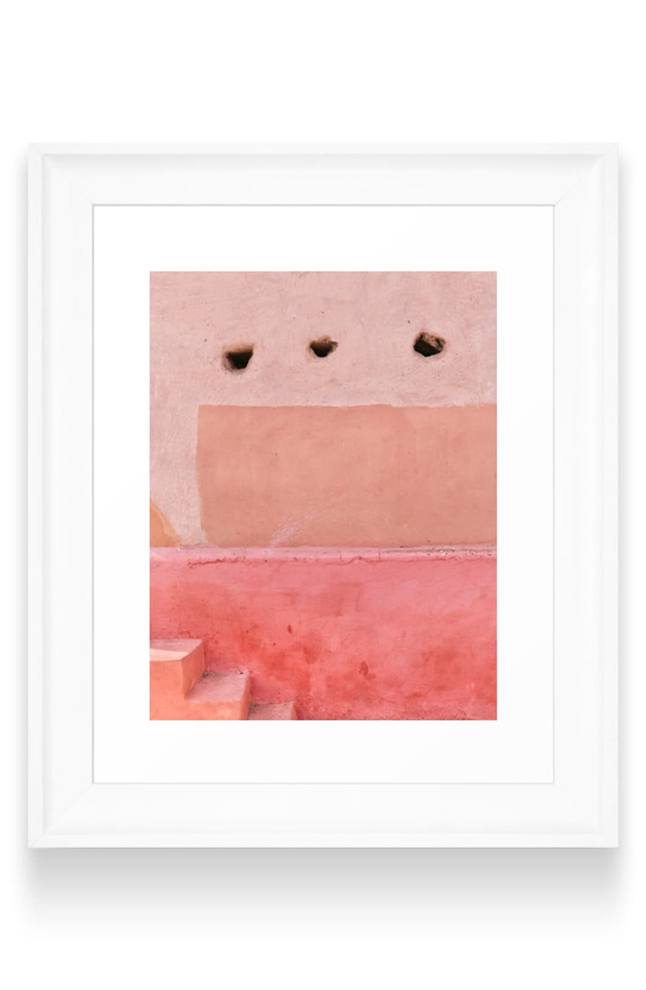Deny Designs Colors Of Morocco Art Print Size One Size Pink