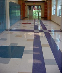 Commercial Vct Commercial Flooring Floor Patterns