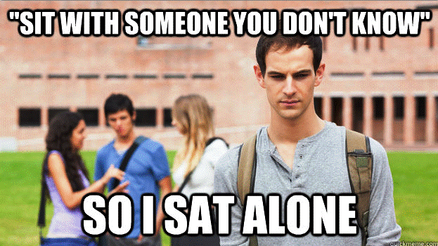 The Dilemmas Of The Soul Searching Sophomore Meme Psychology Memes Sophomore Soul Searching