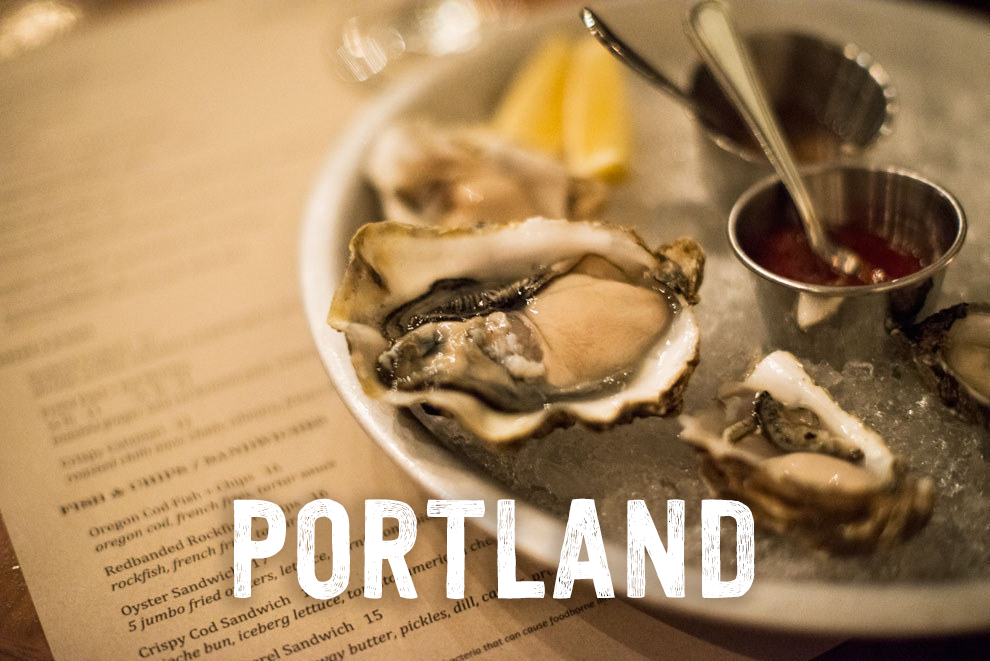 Arrive in Portland and feast on oysters at Block+Tackle | 21 Awesome Things To Do When You Go To Oregon