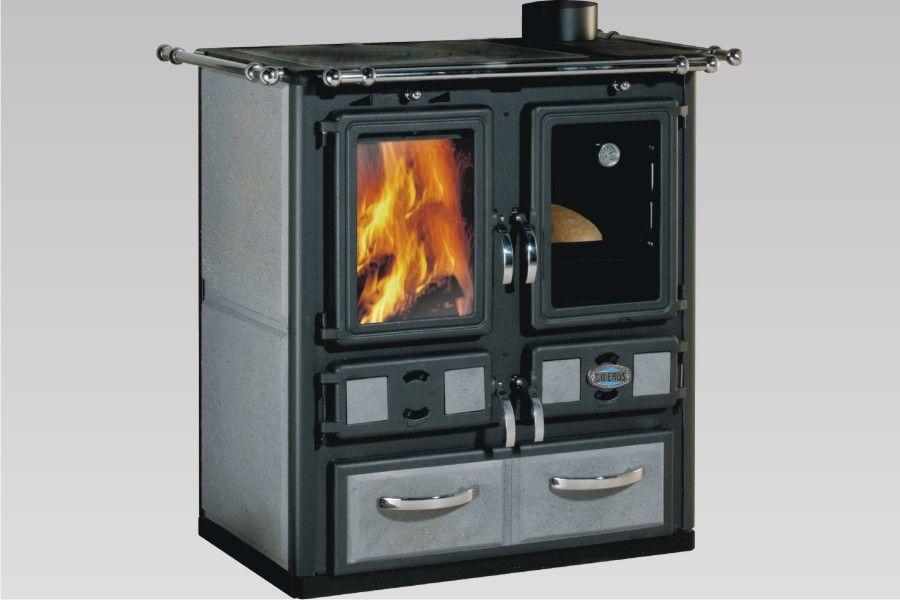 Wood Kitchens | Sideros: stufe a pellet, stufe a legna | cucina a ...