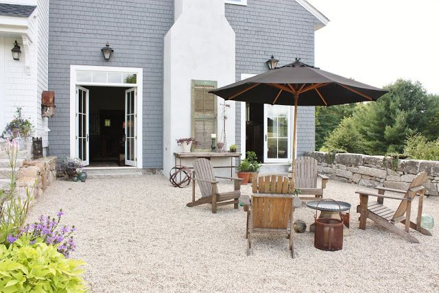 for the love of a house gravel patio crushed stone patios and