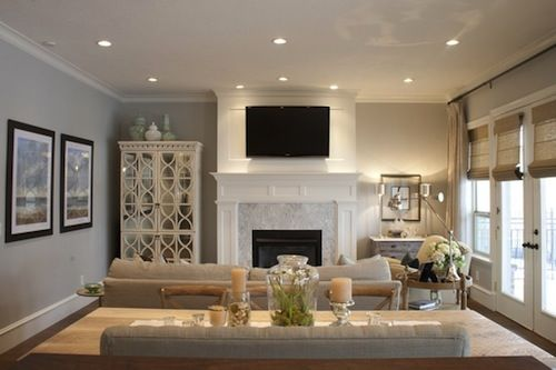 Mantel Fireplaces, Style and Window