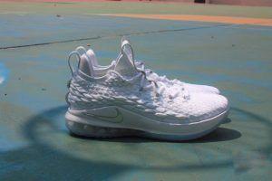Nike Lebron 15 Low White Metallic Performance Review  22081c526