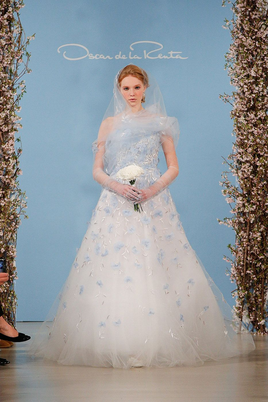 The weirdest trends from the spring bridal shows white wedding