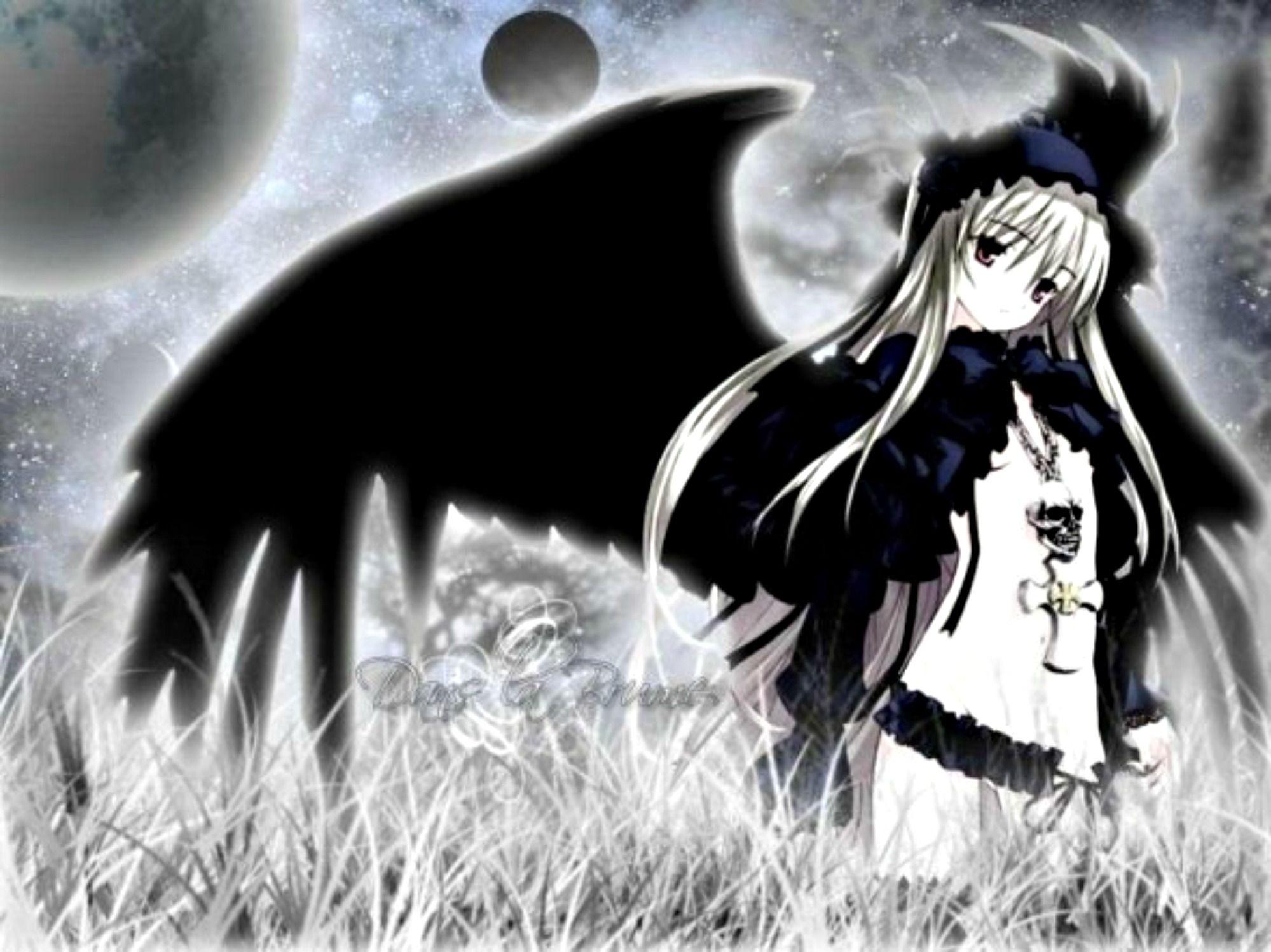 Download dark angel anime girl wallpaper angels fairies - Dark angel anime wallpaper ...