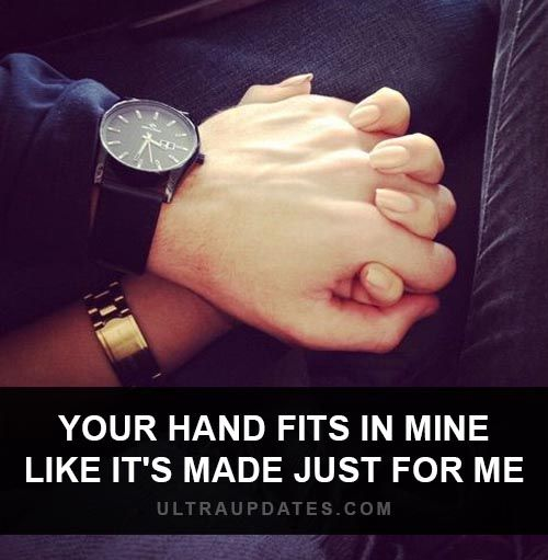 Cute Holding Hands Quote Special Quotes Love Quotes Couple Quotes
