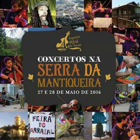 Concertos na Serra da Mantiqueira.