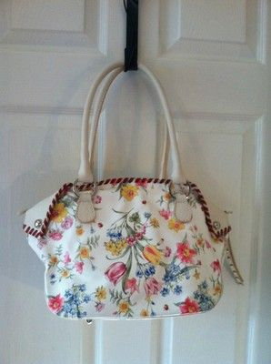 Cecconi Piero Leather Flower Handbag
