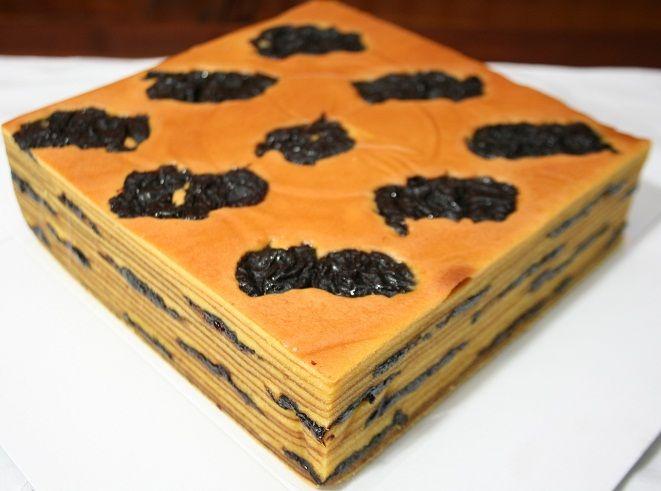 Resep Kue Lapis Legit Prunes Dan Cara Membuat Lapis Legit Prune Resep Kue Kue Lapis Kue Camilan
