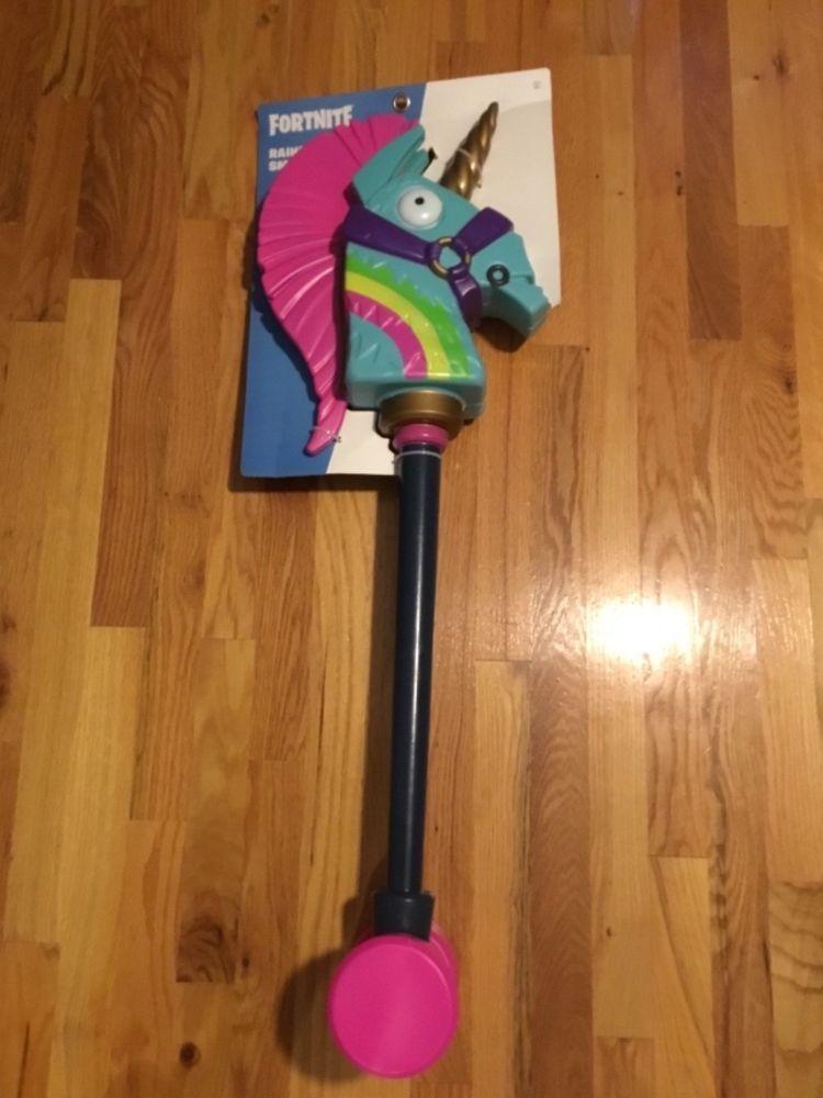 Rainbow Smash Pickaxe Fortnite Unicorn Fortnitegifts Fortnite