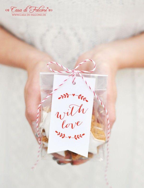 Zimtsterne hübsch verpackt I Weihnachtsbäckerei I Weihnachtskekse I