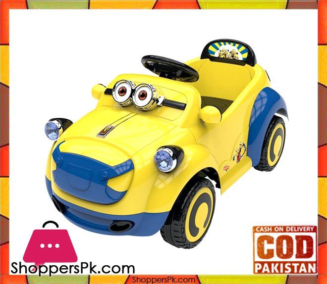Minion Battery Operated Ride On Car For Kid Online Shopping In