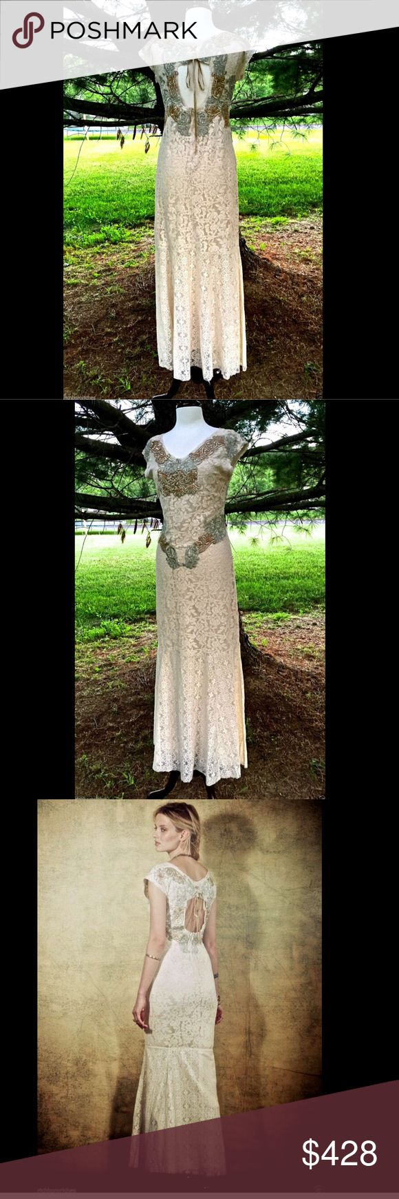 Selling this Free People ivory lace Limited Edition Dress 6 in my Poshmark closet! My username is: richbororiches. #shopmycloset #poshmark #fashion #shopping #style #forsale #Free People #Dresses & Skirts