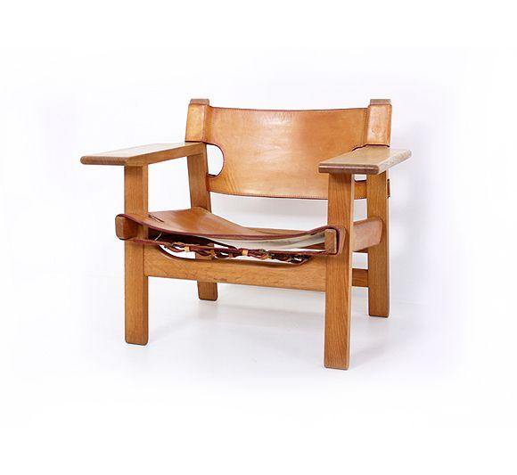 borge mogensen spanish chair 1959 scandinavian design pinterest